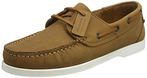 New Look Chester, Scarpe da Barca Uomo, Marrone (Brown (18/Tan)), 45.5 EU