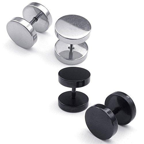 konov-bijoux-boucles-doreilles-mixte-rond-clous-doreille-7mm-2-paire-acier-inoxydable-pour-homme-et-