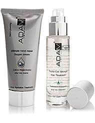 ADAM REVOLUTION Kit pour homme : Crème Régénérante pour Mains Oxygène, 100 ml + Traitement Energisant pour Cheveux, 50 ml