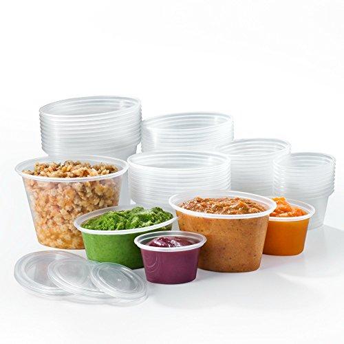 Mummy-Cooks-Lot-de-50-boites-de-conservation-de-differentes-tailles-avec-couvercle-Sans-Bisphenol-BPA