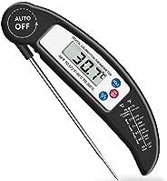 Brifit Voedsel Thermometer, Digitale Instant Read Vlees Thermometer met Sonde voor Koken in de Keuken, BBQ, Ge
