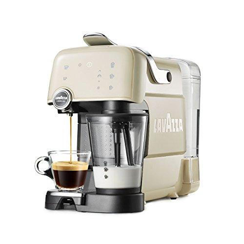 Lavazza Fantasia Máquina de café en cápsulas 1.2L 1tazas Color blanco - Cafetera (Independiente, Máquina de café en cápsulas, Color blanco, Acrilonitrilo butadieno estireno (ABS), Tocar, Semi-automática)
