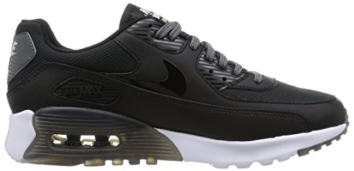Nike Air Max 90 Ultra Essential, Baskets Basses Femme Noir (Black/Black-Dark Grey-Pr Pltnm)