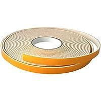 gleit Gut® Cinta de Fieltro Adhesivo/Fieltro Cinta al Metro–3Meter–Ancho: 25mm Grosor: 3mm Blanco