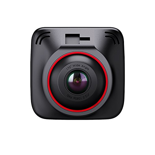BC Master DC10 Autokamera 1080P 170° Dashcam Full HD, 3-Port kfz ladegerät, GPS Modul, Parkmonitor, G-Sensor, Loop Aufnahme, Super Night Vision, 2.0