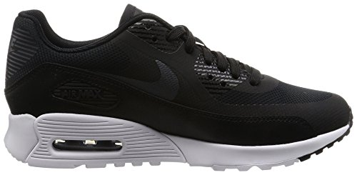 Nike  Wmns Air Max 90 Ultra 2.0, chaussure de sport femme Noir (Black/Metallic Hematite/White/Black)
