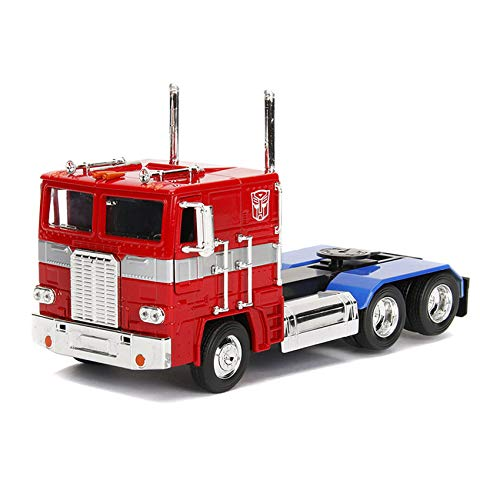 Jada 1:24 Die-Cast G1 Optimus Prime Autobot COE Semi-Truck Transformers Television Series Model Collection Christmas New Gift - Transformers Serie G1