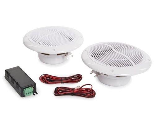 Par Altavoz Techo Home Cinema 16,5cm 80W con Amplificador Bluetooth