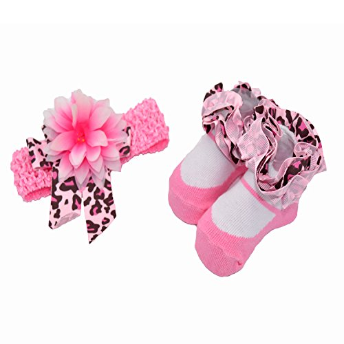 Baby Bucket Soft cotton baby socks (Wh. & PNK CONF)