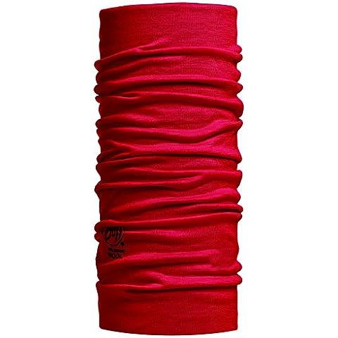 Original Buff Merino Lana - Tubular unisex, multicolor, talla M