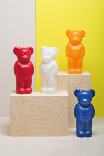 Lumibear red/polypropylene/H 58cm