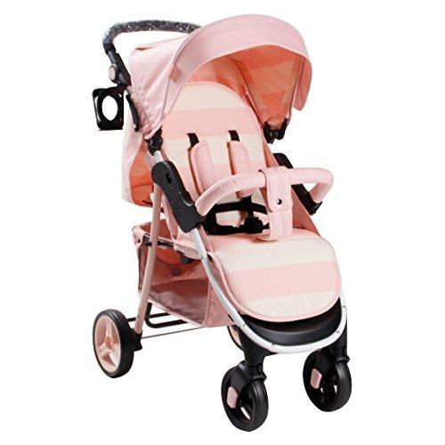 My Babiie Billie Faiers MB30 Pushchair (Pink Stripes)