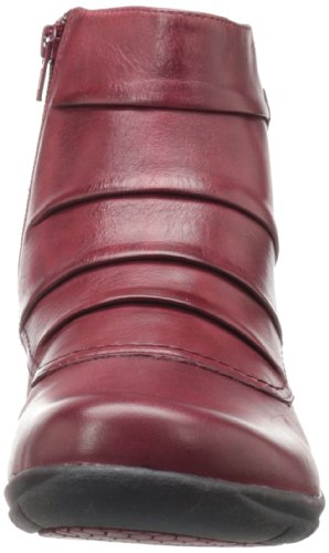 Clarks  Christine Club,  Damen Knöchel-Riemchen Bordeaux Leather