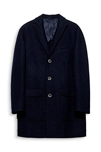 ESPRIT Collection Herren Mantel Blau (Navy 400)