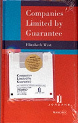 Companies Limited by Guarantee by Elizabeth West (2000-10-31)