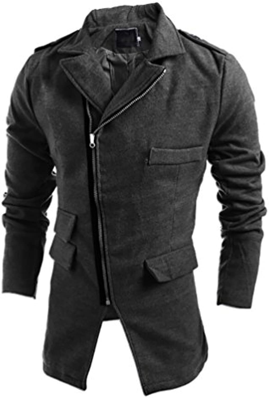 ... CeRui Cappotto Uomo Slim Fit Giaccone Soprabito Invernale Invernale  Soprabito Elegante Coat f435a7 aca35a02a46