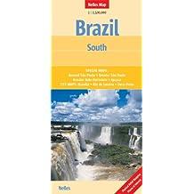 Nelles Map Brazil : South (Landkarte) 1 : 2 500 000. Special Maps: Around São Paulo, Greater São Paulo, Greater Belo Horizonte, Iguaçu, City Maps: Brasília, Rio de Janeiro, Ouro Preto