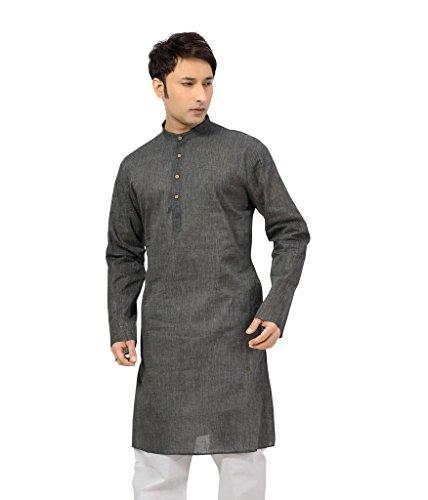 ISHIN-Cotton-Grey-Kurta