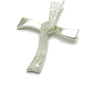 Silber anhänge laser fertig Kreuz 925 Empress jewellery