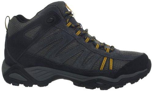 Columbia NORTH PLAINS MID WP, Scarpe da escursionismo e trekking uomo grigio (Grau (Charcoal, Gallion 030))