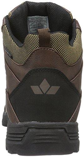 Lico Mens Miles Short Boots Brown (marrone)