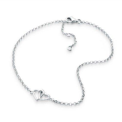 Elli 0706310112_25 – Cavigliera da donna, argento sterling 925, 250 mm