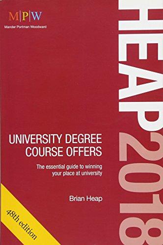 HEAP 2018: University Degree Course Offers por Brian Heap
