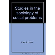 Title: Studies in the sociology of social problems ACC so