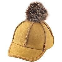 Minshao Unisex Peak Baseball Cap Cute Kids Child Girl Boy Bongrace Winter Warm Hat for 2-8 Years Old