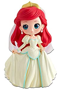 Disney - Figurine Q Posket Vestido De Novia Ariel 14cm