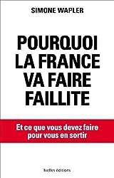 Pourquoi la France va faire faillite: ... et ce que vous devez faire pour en sortir de Wapler. Simone (2012) Broché