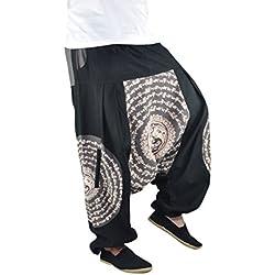 virblatt pantalones harem pantalones arabes ropa boho pantalon palazzo pantalon hippie estilo bohemio chic Balance