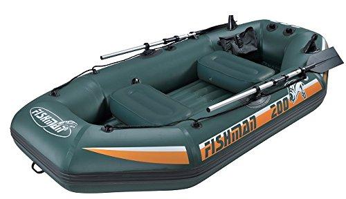 Jilong Fishman II 200, Schlauchboot Unisex-Erwachsene, grün, 240x 128x 43cm