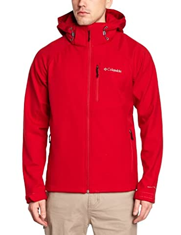 Columbia Cascade Ridge II Homme Softshell rouge (Taille cadre: XL) softshell