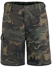Brandit US Ranger Pantalones Cortos Woodland tamaño XXL