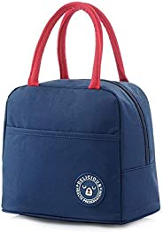 Insulated Lunch Bag for Women Men, Leakproof Thermal Reusable Lunch Box for Adult & Kids, Lunch Cooler Tote for Office Work