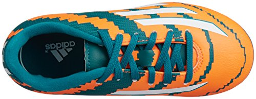 Adidas Enfants Fussballschuhe Messi 10.3 HG Vert - power teal f14/ftwr white/solar orange