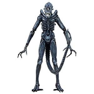 ALIENS SERIES 2 BLUE ALIEN WARRIOR (XENOMORPH) ACTION FIGURE (AGES 17+) 7