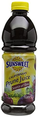 Sunsweet Juices Prune 1 Litre (Pack of 6)