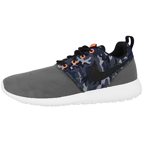 Nike Unisex Roshe One Print (GS) Schuhe (Männer Nike-schuhe Für Graue Und Blaue)