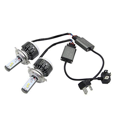 Win Power - Lampadine per fari LED All-in-One kit conversione H1H3H4H7H11H1390059006–60W 7.000 lm 6000K bianco freddo, ricambio Xenon HID, confezione da 2