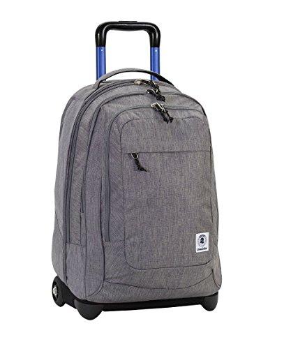 Invicta office tote da viaggio, 53 cm, 45 litri, grigio chiaro