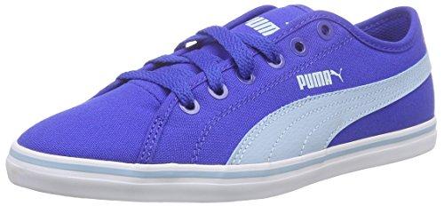 Puma Elsu V2 Cv, Sneakers basses mixte adulte Blau (dazzling blue-cool blue 06)
