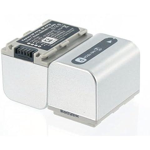 Batería compatible con Videocámara Sony NP FP71con Li-Ion 7.2V/1600mAh