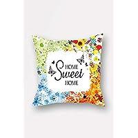 Bonamaison Decorative Throw Pillow Cover, Multi-Colour, 45 x 45 cm, BNMYST1042