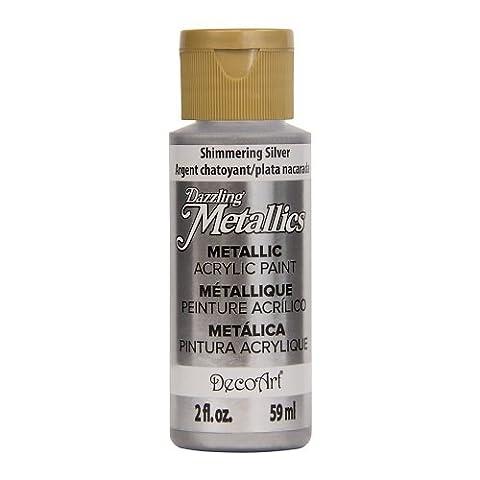 Deco Peinture - DecoArt Americana Peinture acrylique métallique, scintillant