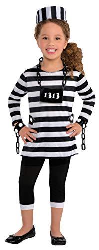 Enter-Deal-Berlin Kinder Mädchen Kostüm Gefangene Größe 110 cm ( 4-6 Jahre )