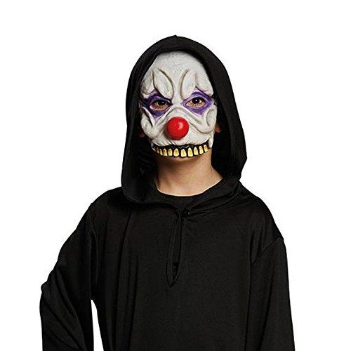 Halbmaske Horror-Clown Gr. STD Halloween Karneval Fasching Horror Kostüm - Horrorclown Kostüme
