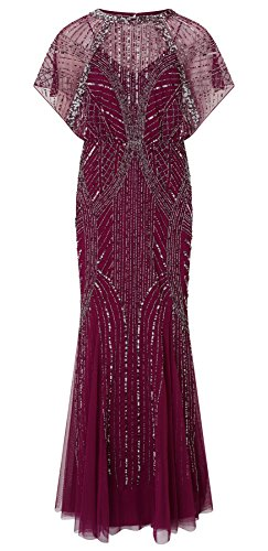 Steffy Berry Maxi Embellished Dress