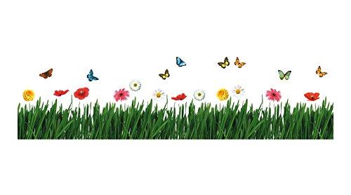 Preisvergleich Produktbild DecorArt Wanddekoration -Blumenwiese- Neuheit 70 x 100 cm
